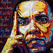 Obama Print by Maria Arango