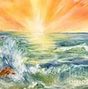 Ocean Waves IIi Print by Summer Celeste