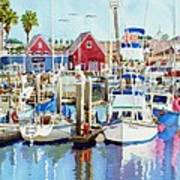 Oceanside California Print by Mary Helmreich