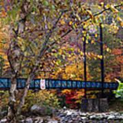 Ocoee River Bridge Print by Debra and Dave Vanderlaan