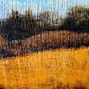 Oklahoma Prairie Landscape Print by Ann Powell
