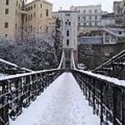 Old Bridge Of Constantine Print by Boultifat Abdelhak badou