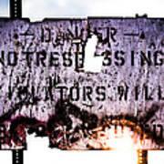Old Danger Print by Bob Orsillo