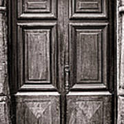 Old Door Print by Olivier Le Queinec