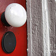 Old Doorknob Print by Olivier Le Queinec