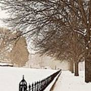 Old Fashioned Winter Print by Chris Berry