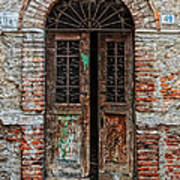 Old Italian Doorway Print by Mountain Dreams