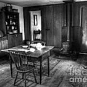 Old Kitchen Print by Kathleen Struckle