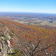 Old Rag Hiking Trail - 121234 Print by DC Photographer