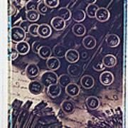 Old Typewriter Keys Print by Garry Gay