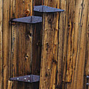 Old Wood Barn Print by Garry Gay