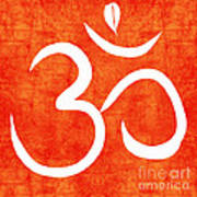 Om Spice Print by Linda Woods
