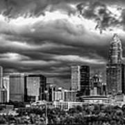 Ominous Charlotte Sky Print by Chris Austin