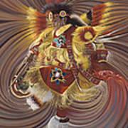 On Sacred Ground Series 4 Print by Ricardo Chavez-Mendez