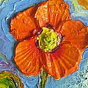 Orange Poppy II Print by Paris Wyatt Llanso