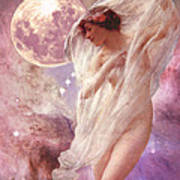 Orion's Dancer Print by Maureen Tillman