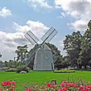 Orleans Windmill Print by Barbara McDevitt