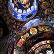 Orthodox Church Interior Print by Elena Elisseeva