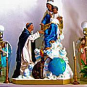 Our Lady Of Peace Print by Karon Melillo DeVega