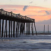 Outer Banks Sunrise Print by Adam Romanowicz