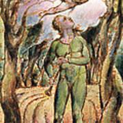 P.125-1950.pt2 Frontispiece Plate 2 Print by William Blake