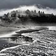 Pacific Island Fog Print by Adam Jewell