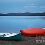 Paddle's End Print by Barbara McMahon
