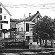 Pakkhuset Print by Janet King