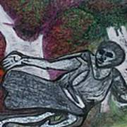 Paleolithic Era Man Print by Jonathon Hansen
