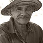 Panamanian Country Man Print by Heiko Koehrer-Wagner