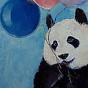 Panda Party Print by Michael Creese