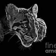 Panting Beauty Print by Ashley Vincent