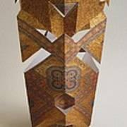 Paper Mask Print by Alfred Ng