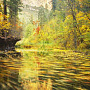 Parade Of Autumn Print by Peter Coskun