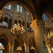 Paris France - Notre Dame De Paris - 01134 Print by DC Photographer