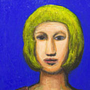 Parisienne With A Bob Haircut Print by Kazuya Akimoto
