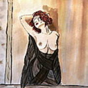 Pastel Passion Print by Shlomo Zangilevitch