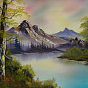 Pastel Skies Print by C Steele