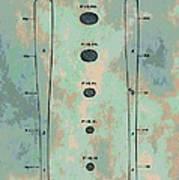 Patent Art Baseball Bat Print by Dan Sproul