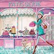 Patisserie Print by Caroline Bonne-Muller