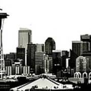 Patriotic Seattle Print by Benjamin Yeager