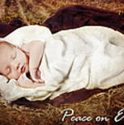 Peace On Earth Print by Cindy Singleton