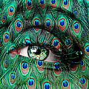Peacock Print by Yosi Cupano