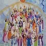 Pentecost Print by Paula Stacy Adams