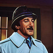Peter Sellers As Inspector Clouseau  Print by Paul Meijering