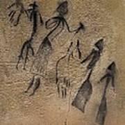 Phallic Dance In Naturalistic-stylized Print by Everett