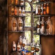 Pharmacist - Various Potions Print by Mike Savad
