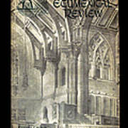 Phil Ecumenical Review 1965 Print by Glenn Bautista