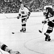 Phil Esposito In Action Print by Gianfranco Weiss
