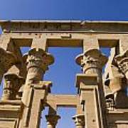 Philae Temple Egypt Print by Brenda Kean